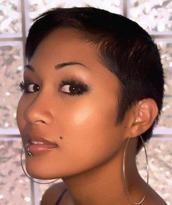 Asian women very short hairstyle.jpg | Faces of the World | Pinterest