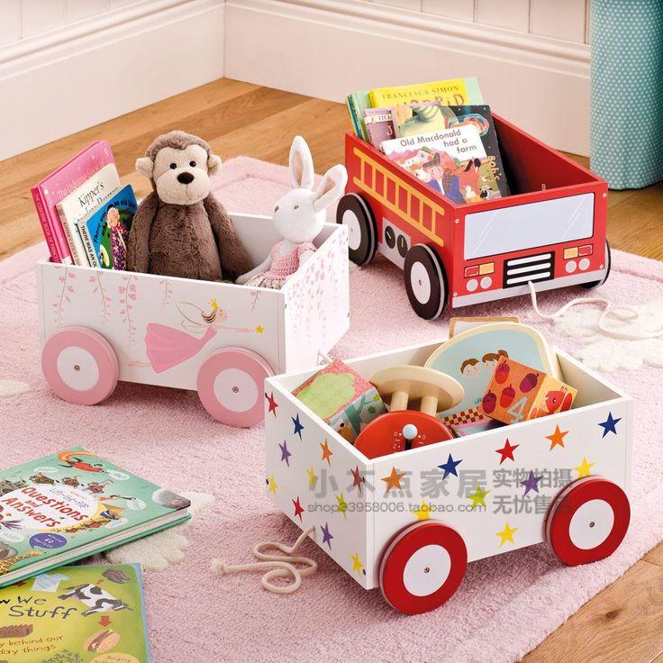Ящики для хранения детских игрушек своими руками 37