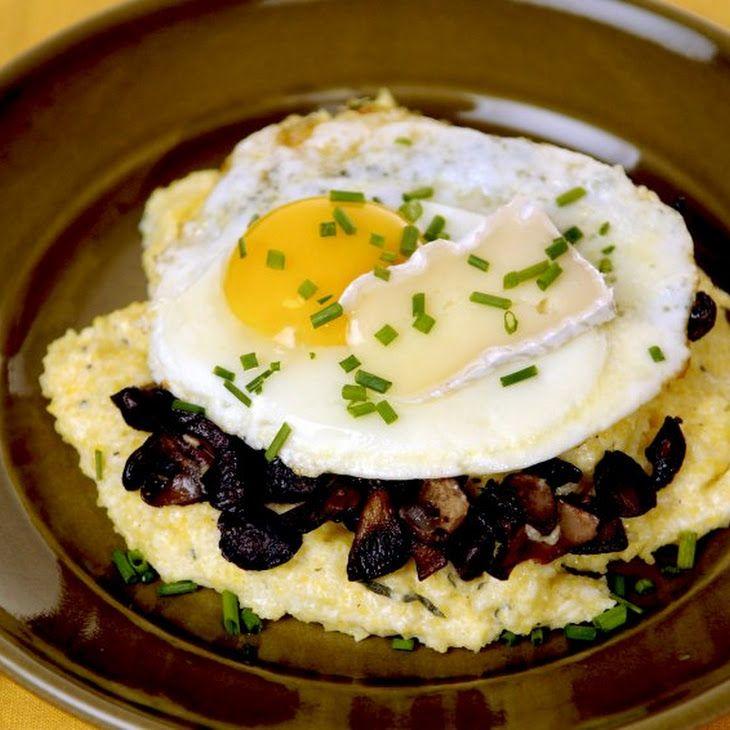 Creamy Polenta with Forest Mushrooms Recipe