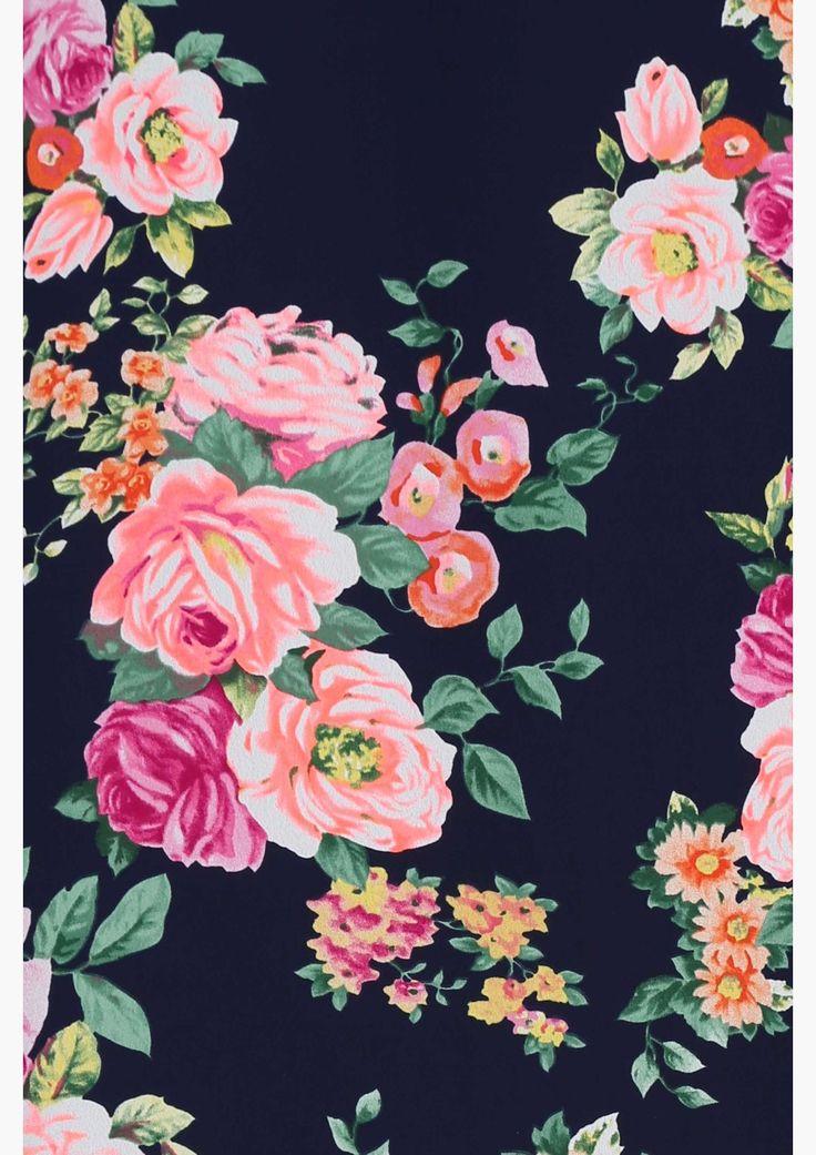 Garden party dress estampas e padr es florais pinterest for Garden party flower designs to color