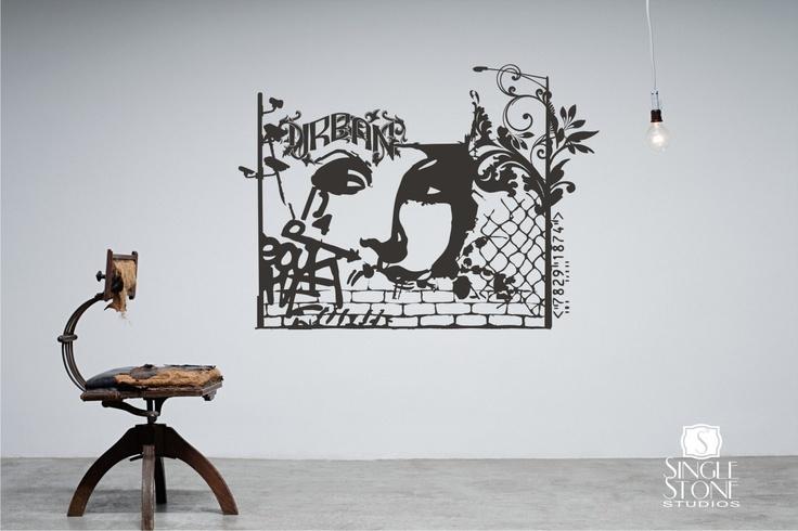 Urban Graffiti Wall Decal