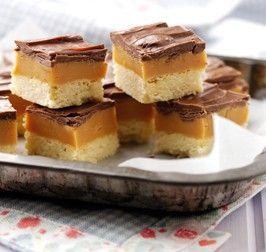 Millionaire Shortbread - Brownies & Tray Bakes -Recipes - Baking Mad