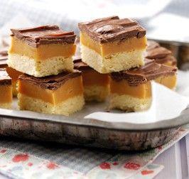 Millionaire Shortbread - Brownies & Tray Bakes -Recipes - Baking Mad