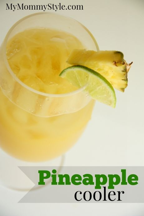 pineapple cooler drink You can use pineapple juice rather than frozen ...