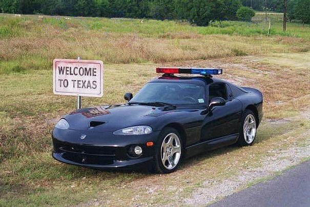 USA Dodge Viper Police Car