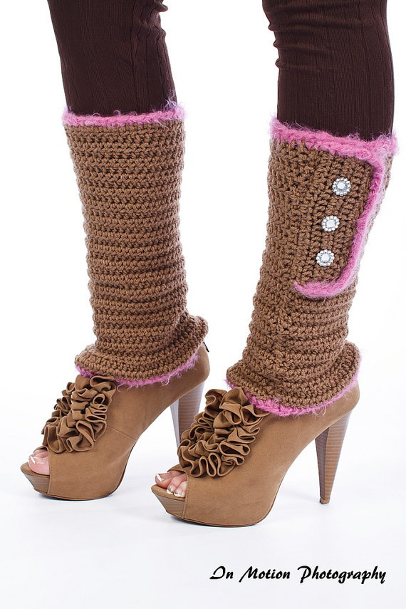 Crocheting Leg Warmers : Womens Crochet Leg Warmers Adult Leg Warmers Girls by ChiclyHooked, $ ...