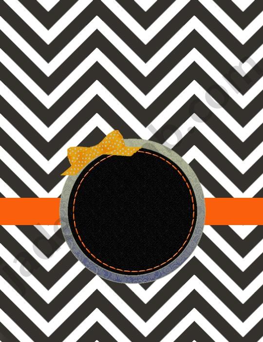black chevron cover