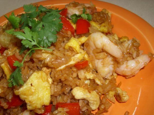 Thai Pineapple Shrimp Fried Rice | Recipe