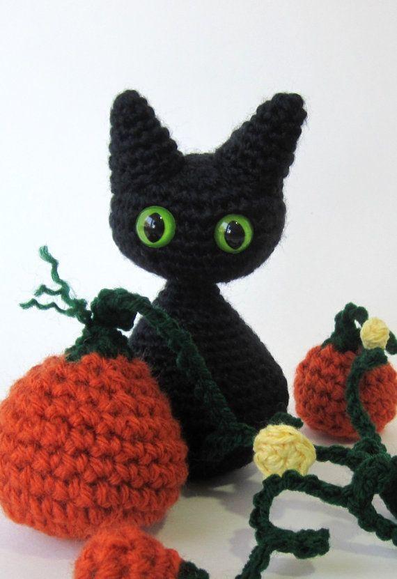 Amigurumi Halloween : Crochet Pattern Amigurumi Halloween Ghost Halloween ...