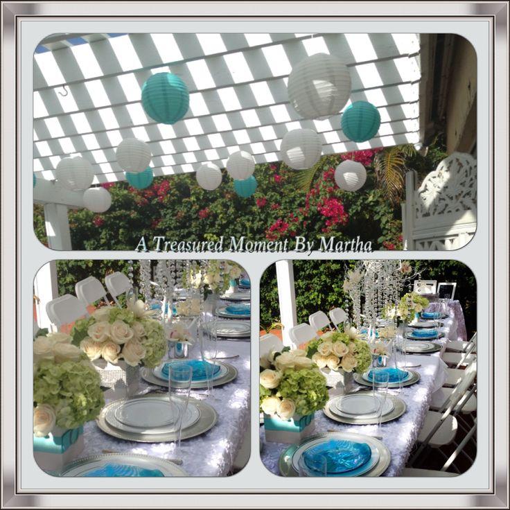 Backyard Table Set Up : Garden table set up  Wedding Garden Ideas  Pinterest