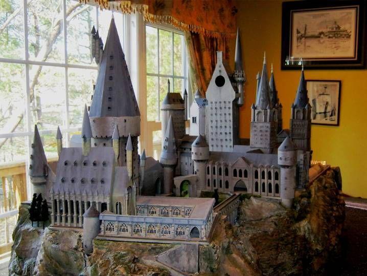Hogwarts ho model train