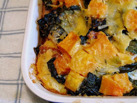 Savory squash pudding to squash out your hunger