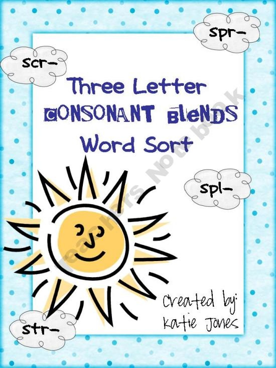 http://www.aussiechildcarenetwork.com/three_letter_blends.php