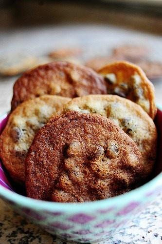 malted milk chocolate chip cookies | the good stuff | Pinterest