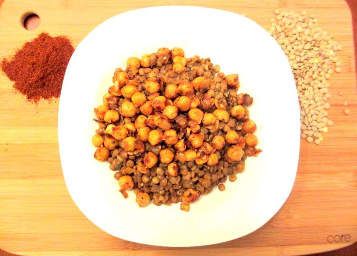 Moroccan Spiced Lentils and Chickpeas | Mangia | Pinterest