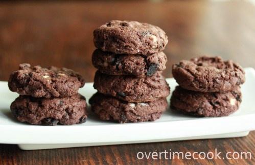 Triple Chocolate Oreo Chunk Cookies | COOKIES & BARS - Chocolate Cook ...