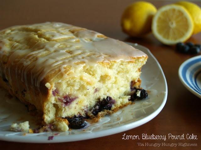 Lemon Blueberry Pound Cake | Pound Cake Day | Pinterest