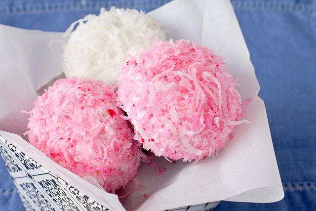homemade sno balls by kokocooks, via Flickr