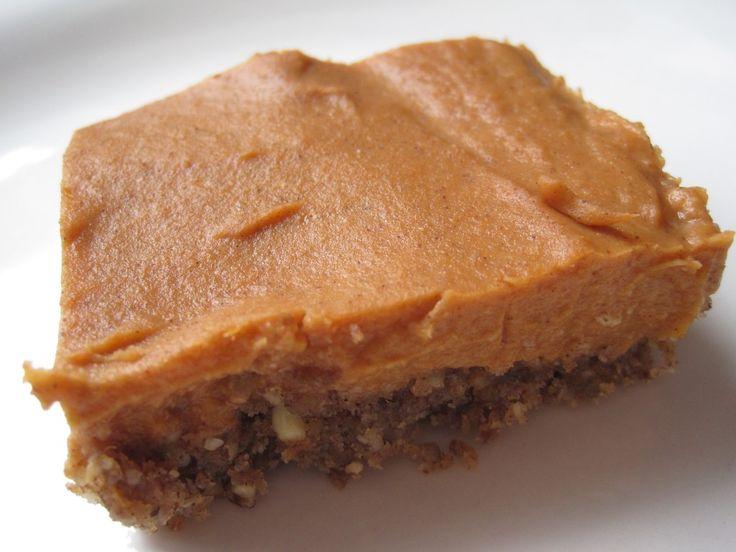 Pumpkin Pie Bars Vegan and Gluten Free   Mmm   Pinterest