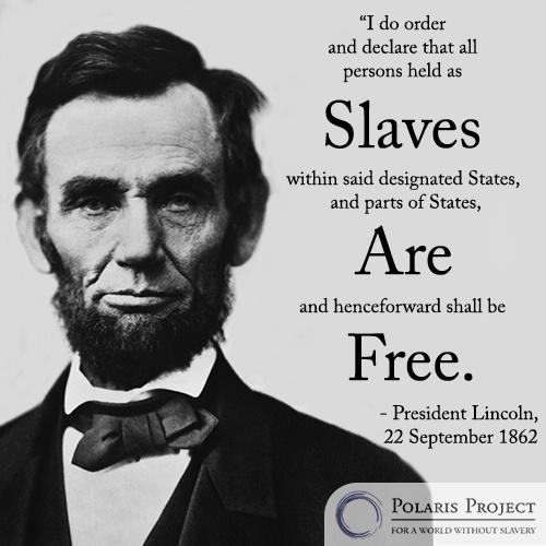 President Lincoln On Slavery History Black Pioneers