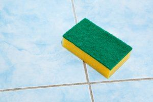 Cleaning Grout | Stretcher.com - The former owners of their home did a