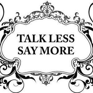 essay talk less work more