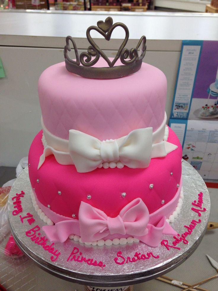 fondant 1st birthday cake ideas