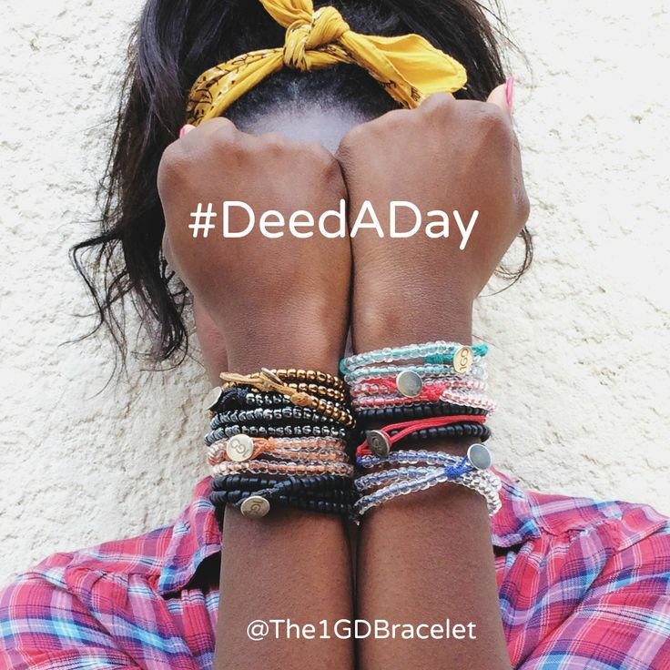 Make a resolution to do a #DeedADay for others. Karma FTW!