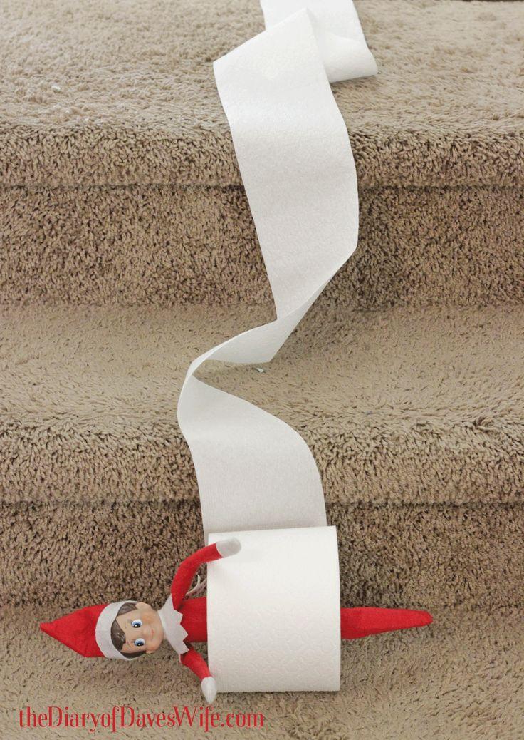 Cute elf on the shelf ideas holidays pinterest