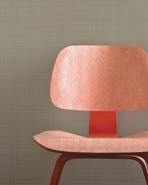 "Eames Lounge Chair Wood transformed into a ""Herringbone Chair"""