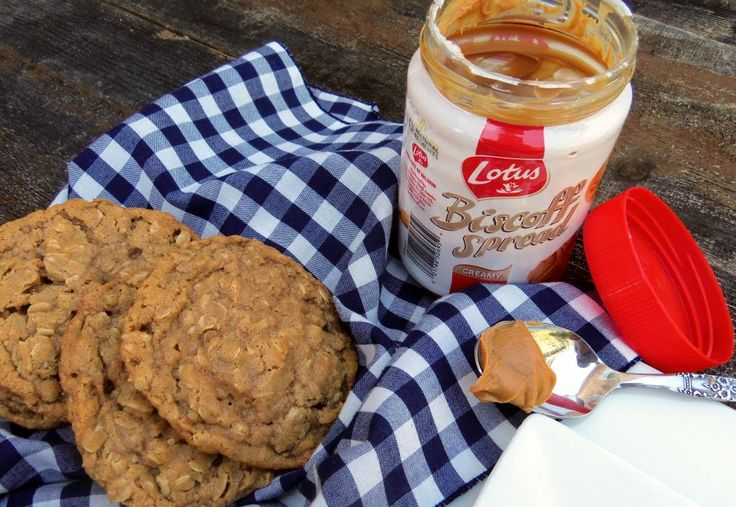 Biscoff Oatmeal Cookies | Sweets | Pinterest