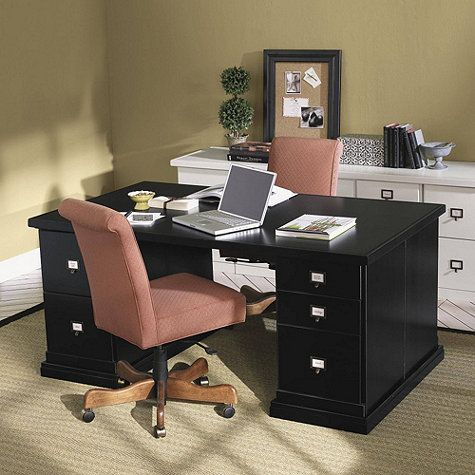 original home office partners desk reilly project
