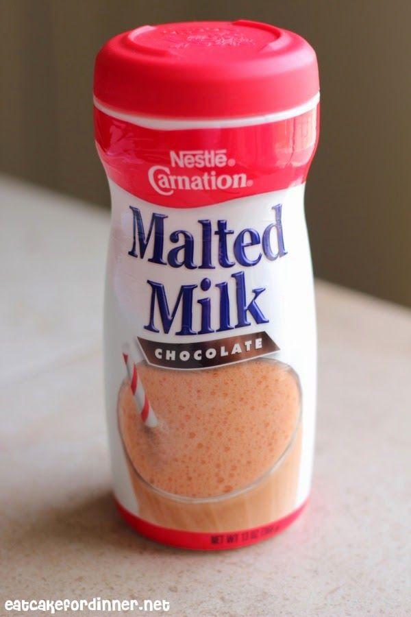 "... : ""Skinny"" Banana Pudding Milkshake with Chocolate Malt Whipped..."