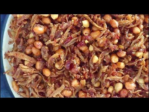 Sambal Ikan Bilis dan Kacang | VIDEOS | Pinterest