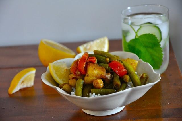 New Potato and Green Bean Curry | Vegetarian | Pinterest