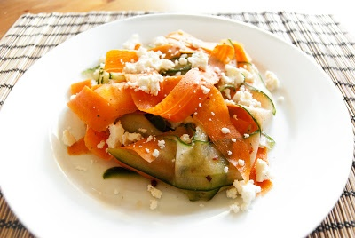 Cucumber Ribbon Salad With Ranch-Style Buttermilk Herb Dressing ...