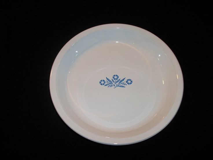 "CORNING WARE Blue Cornflower 9"" Pie Plate. Vintage 1960's #P-309. Excellent Pre-Owned Condition! $18.95 obo (Free S&H)"