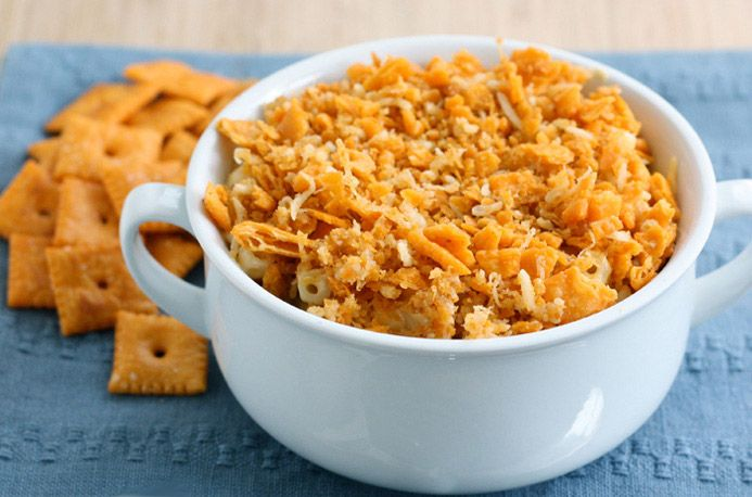 Chef John's No-Bake Macaroni & Cheese with Crunchy Cheez-It™ Gratin ...