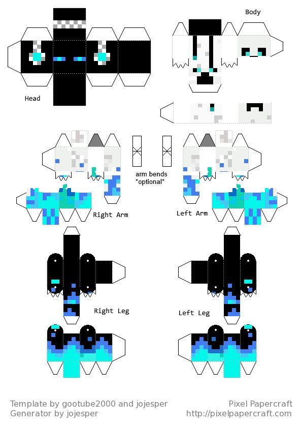 Similiar Minecraft Skins Print Out Keywords