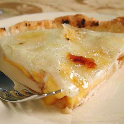 Peach Crème Brûlee Tart by Cooking Light | Desserts | Pinterest
