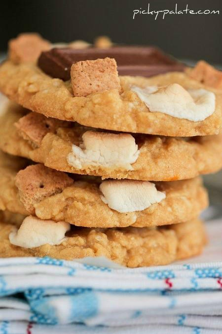 Peanut Butter S'mores Cake Cookies... | Edible Pornography ...