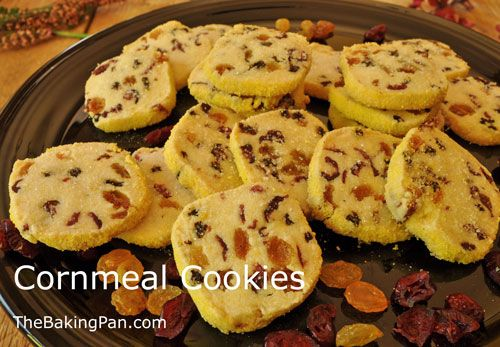 Cookie Recipe | Cornmeal Cookies Recipe | cookies and bars | Pinterest