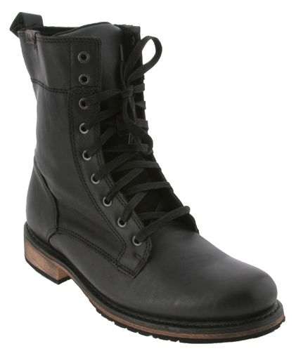 harley davidson black leather merle motorcycle boots mens