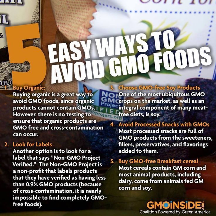There are foods in the supermarket, created by corporations who think they know better than Mother Nature.  In fact, 80% of the processed foods in the United States contain these genetically modified organisms, called GMO's for short. Read more: http://www.onegreenplanet.org/vegan-health/5-easy-ways-to-avoid-gmo-foods #GMOs #GEFoods #GMFoods #Food #List #Corn #Soy #Canola #GeneticModification