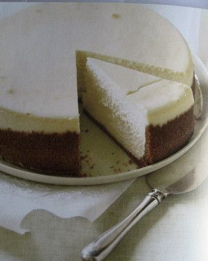 Creamy cream cheese cheesecake for Passover - or not from Dorie ...