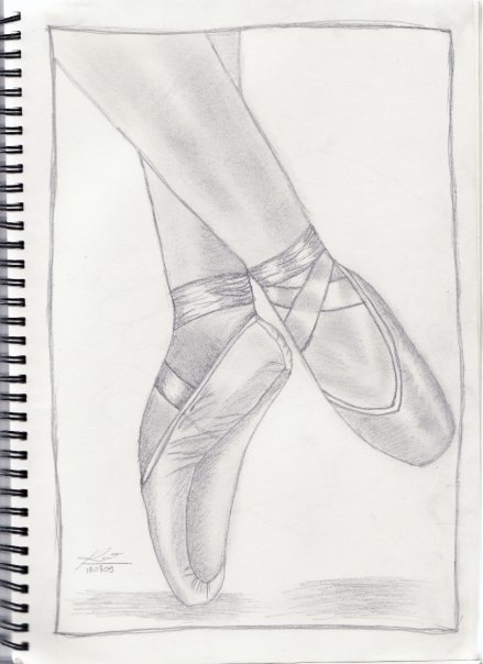 how to learn pointe ballet at home
