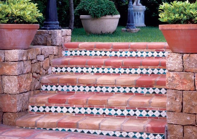 Terracotta Tiles For Outdoor Stair Fitzroy Concept Inspiration Pi