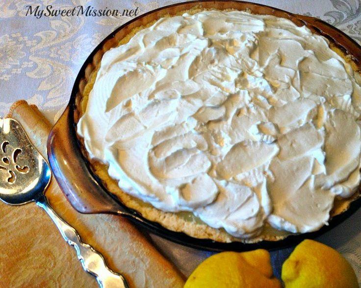 Lemon Supreme Shortbread Pie