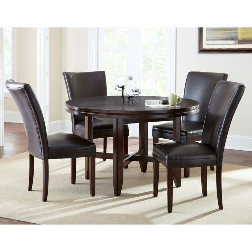 Caden 5 Piece Dining Set With 52 Table