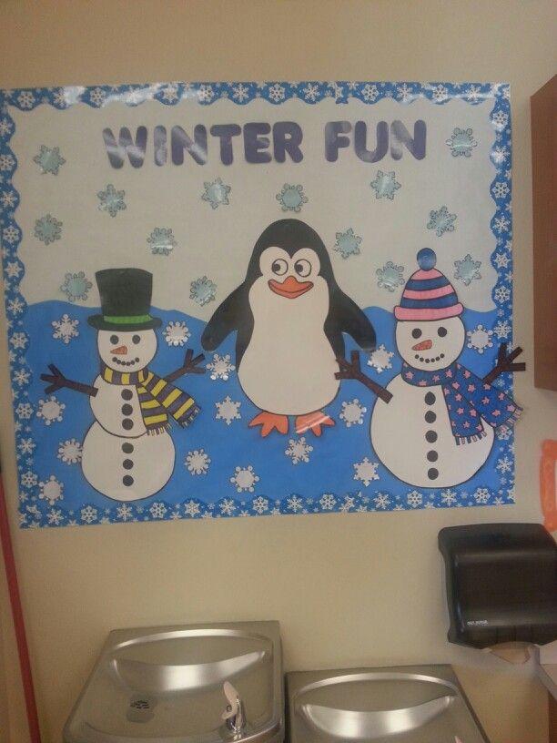Winter bulletin board bulletin board ideas pinterest